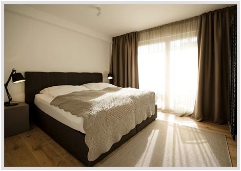 Ferienwohnung Karlotta Diessen Schlafzimmer