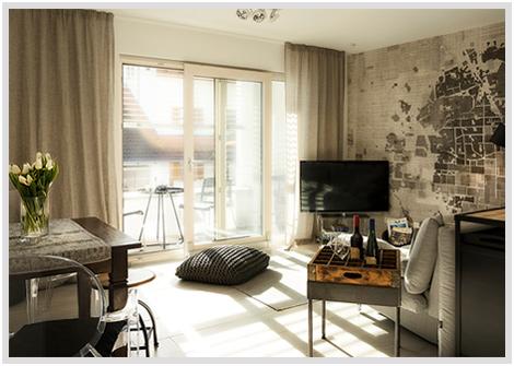Ferienwohnung Karlotta Diessen Wohnzimmer