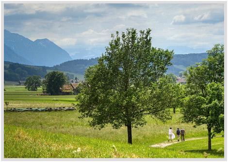 Ferienwohnung Karlotta Diessen Wandern